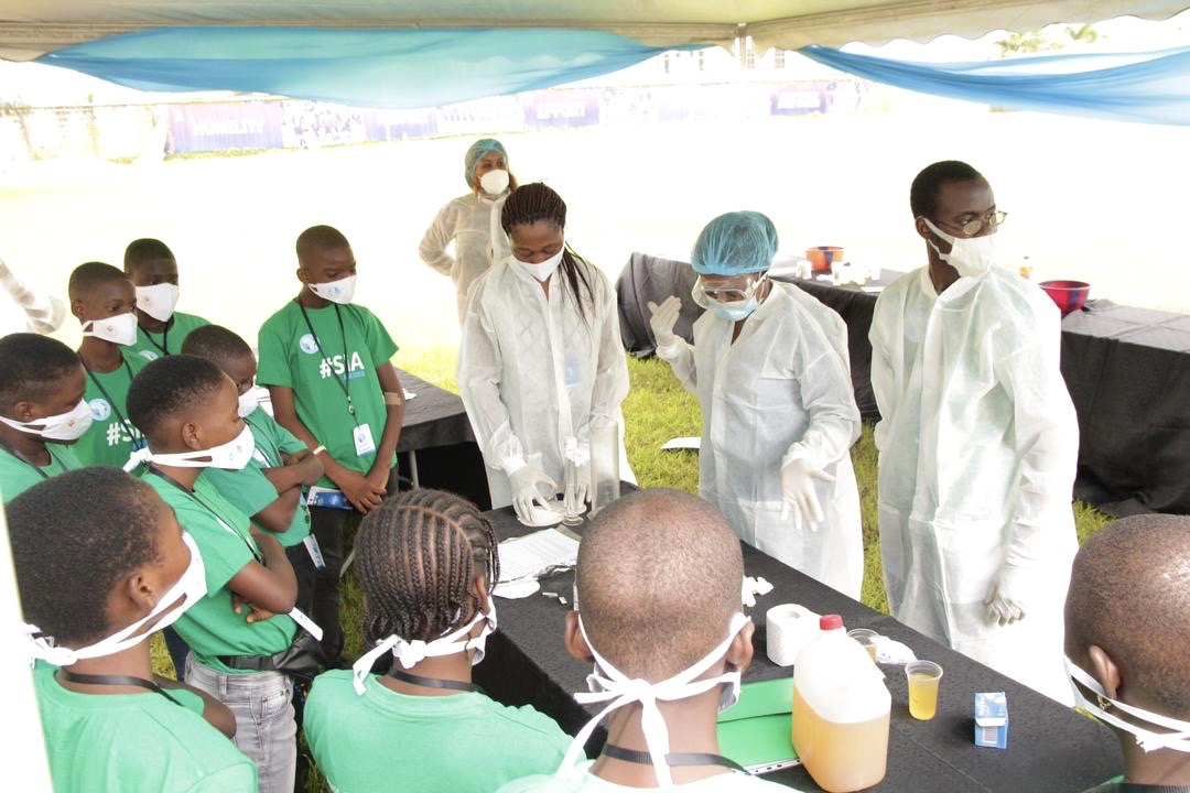 We Partnered with STEM in Africa to Expose Young Children to Science